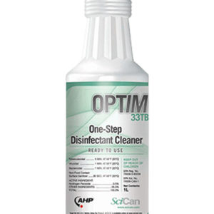 SciCan OPTIM 33TB One Step Disinfectant Cleaner