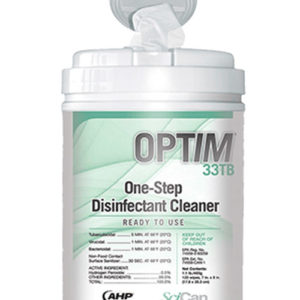 SciCan OPTIM 33TB One Step Disinfectant Wipes